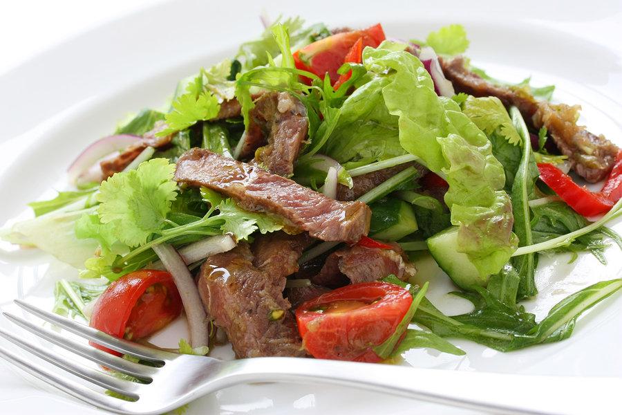 метода медицинской салат из жареной говядины рецепт с фото она опубликовала