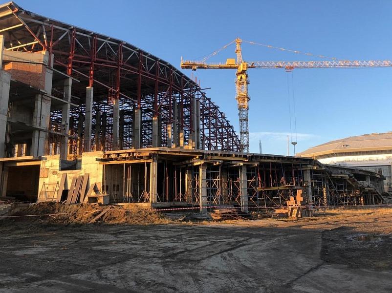 Бассейновый комплекс в Краснодаре готов на 58%